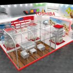 PT. Trifas Sinergi Indonesia   Toshiba booth