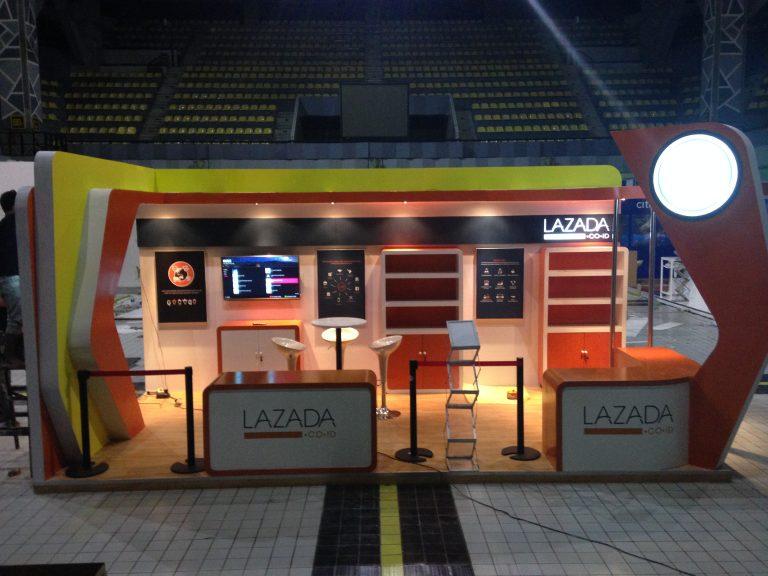 PT. Trifas Sinergi Indonesia   Lazada   Kontraktor pameran